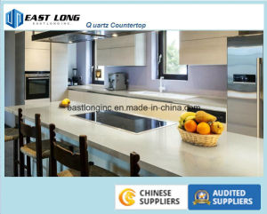 Quartz Stone Solid Surface for Kitchen Countertop pictures & photos