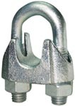 Galv. Malleable Wire Rope Clip DIN 741