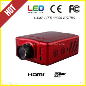 Lowest Price Micro HDMI USB Multimedia Mini LED Projector (SV-856) pictures & photos