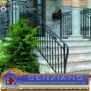 Wrought Iron Handrails Indoor Stairs pictures & photos
