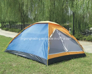 Comfortable 100% Polyester Camping Tent for 2 Persons (JX-CT001) pictures & photos