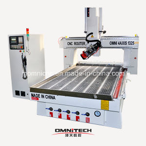 4axis CNC Router with 180 Degree Rotating Head
