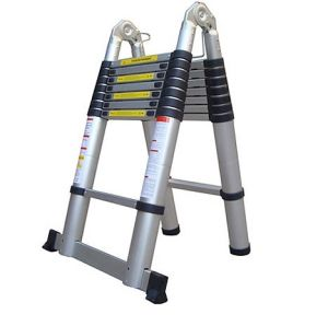 """5.0m """"V"""" Double Telescopic Ladder (QH-B8) pictures & photos"""