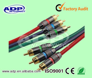 Audio Video Cable/RCA Cable 2 RCA or 3RCA pictures & photos