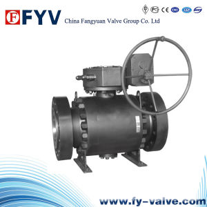 Full Bored Forged Trunnion Ball Valve pictures & photos