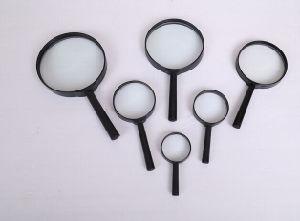 75mm Plastic Handle Glass Magnifier pictures & photos