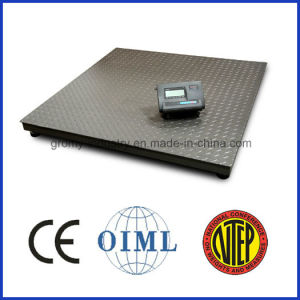 Digital Electronic Platform Weighing 3 Tons Floor Scale for Industrial Use pictures & photos