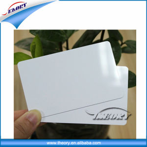 Factory Price Standard Size Plastic PVC Blank White Card pictures & photos