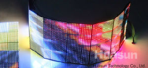 P10 Flexible Foldable LED Curtain Display (Rubik10) pictures & photos