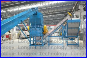 Plastic Pet PP PE Waste Crushing Washing Recycling Line pictures & photos