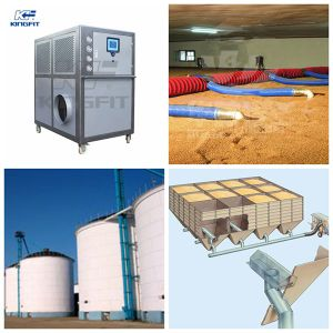 High Efficiency Grain Cooler for Steel Silo pictures & photos