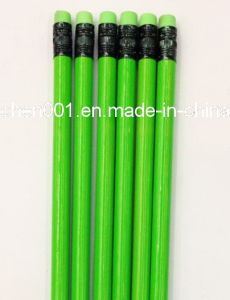 7 Inch Wooden Hb Pencil with Eraser Tip (SKY-012B) pictures & photos