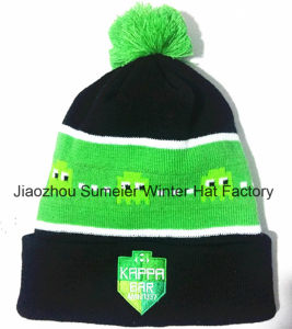 Free Samples More Colors Mixed Woven Beanie Knitted Cap pictures & photos