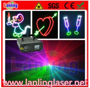 350MW RGB 10kpss Ilda Animation Laser Light/ Laser World pictures & photos