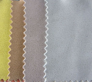 Wax Handfeeling PU Leather for Shoes (YS1506) pictures & photos