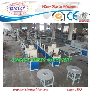Plastic PVC Edge Band Machine Line with Printing Online pictures & photos