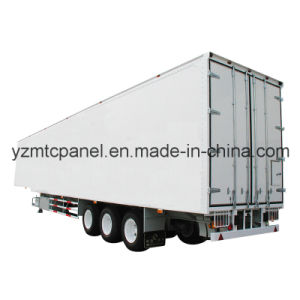 17m Overlength FRP Semi Trailer Insulated Truck Body pictures & photos