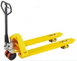 3000kg Hand Pallet Truck with High Quality (AC PUMP) pictures & photos