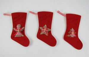 100% Polyester Christmas Stockings for Christmas Gifts pictures & photos