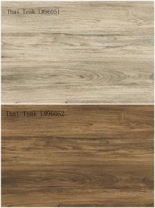 Glazed Porcelain Ceramic Wood Floor Tile 900X600mm LM96051