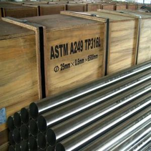 316L Welded Stainless Steel Pipes pictures & photos