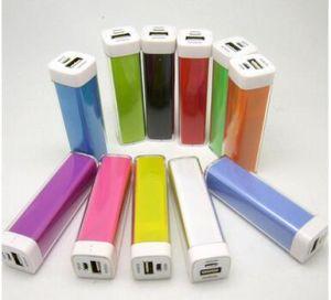 Hot Selling Colorful Customized Mini Power Bank 1200mAh/2600mAh