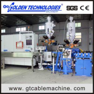 Wire Cable Tandem Extrusion Machine Line pictures & photos
