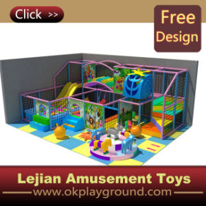 CE 2015 Hot Sell Colorful Naughty Castle Kids Playground (ST1404-6) pictures & photos
