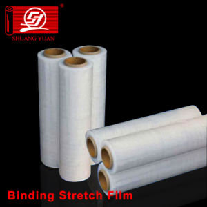 Sy Packaging 100% Virgin Materials Stretch Cast LLDPE Hand Wrap Film pictures & photos
