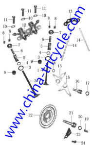 Spare Parts of Air Valve Assy of Tricycle Engine (SP-SP-15) pictures & photos