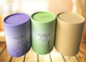 Cylinder Boxes OEM Round Cardboard Packaging Paper Gift Box Wholesale