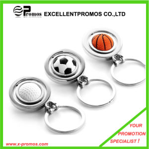 360 Degree Rotating Engraved Football Metal Keychain (EP-K82924) pictures & photos