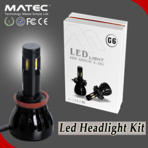 2017 New Arrival LED Headlight Dual Beam Headlamp 48W LED Headlight Bulb H4 pictures & photos