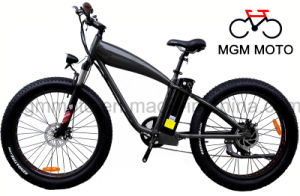 Harley Fat Tire 500W Mountain Electric Bicycle pictures & photos