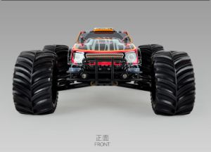 Hot Sales! 1/10 Scale 4WD Blushness 2500kv electric Powered Truck. pictures & photos