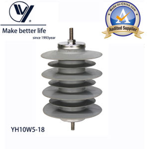 Surge Arrester 10ka, 18kv Polymer Housed, Over 20 Years pictures & photos