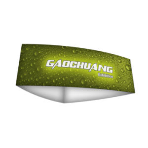 Curved Triangle Fabric Hanging Sign Exhibition Banner Stand (GC-CT) pictures & photos