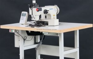 Programmable Pattern Sewing Machine for Heavy Duty Materials pictures & photos