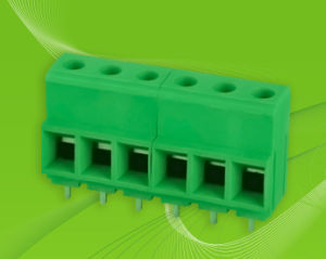 Screw Terminal Block with Material of Smokefree Self Extinguishing pictures & photos