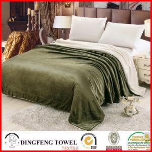 Double Layer Blanket Coral Fleece Wool Terry Loop Df-9918 pictures & photos
