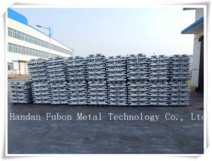 P1020 A00 A7 Aluminum Ingots Al 99.7% Material Plant pictures & photos