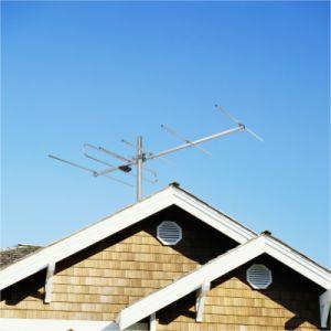 High Gain VHF Outdoor TV Antenna (V-6H)
