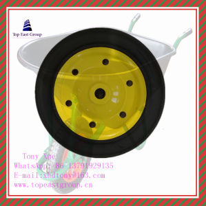 Good Quality Solid Rubber Wheel 300-4, 350-8, 400-8, 500-10 pictures & photos