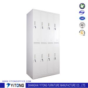 Yitong Vertical 8-Door Metal Storage Cabinet / Office Use Steel Locker pictures & photos