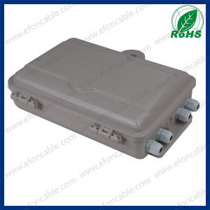 24 Port Plastic Material Optical Fiber Termination Box pictures & photos