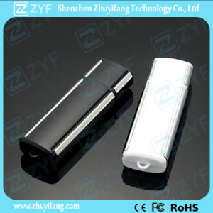 New Design Plastic USB Flash Drive with Free Logo (ZYF1243)