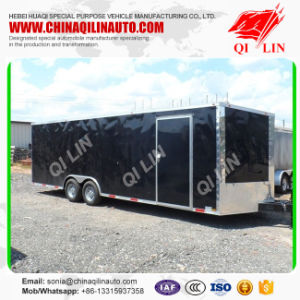 2 Layers Food Box Trailer with Inside Wood Layer pictures & photos