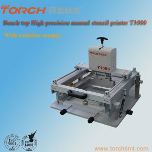 Manual Stencil Printer (T1000) / High Precision Stencil Printer T1000 pictures & photos