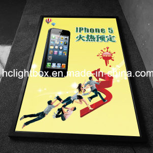 Aluminum Poster Frame Super Bright LED Slim Light Box pictures & photos