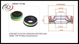 for Nissan Compressor Mechanical Seal pictures & photos